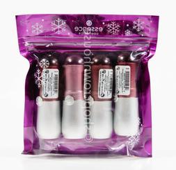 1 pack Essence Velvet Matte Lipstick Gift Variety Set - pink