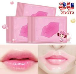 10Pcs Crystal Lip Mask Moisturizing Collagen Anti Chapped Re