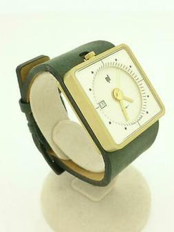 LIP 1871282 Gold Dial Wrist Watches Quartz analog Square