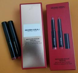 Laura Mercier 2 Piece Velour Seduction Lip Duet Set Pencil C