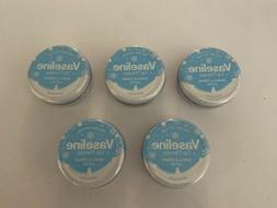 5 Vaseline Vanilla Creme Latte Holiday Lip Therapy Tin 0.6 o