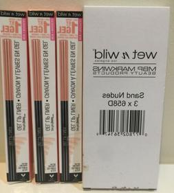 6 Wet n Wild Perfect Pout Gel Lip Liners~NIB~ Sand Nudes 658