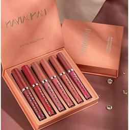 6Pcs Handaiyan Matte Lipstick Set A Long Lasting Make Up Lip