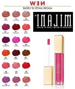 MILANI AMORE MATTE LIP CREAM CREME LIPSTICK Lip Gloss MADE I