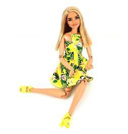 Barbie Fashionistas 126 M2M Hybrid ~ Dimples Repainted Lips
