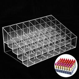 Clear 40 Lipstick Holder Display Stand Cosmetic Organizer Ma