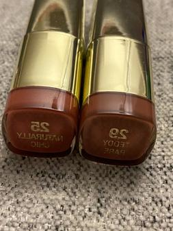 Milani Color Statement Lipsticks in Teddy Bare and Naturally