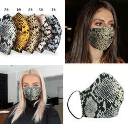 Double Layer Cotton Face Mask Washable Reusable Cloth Soft F