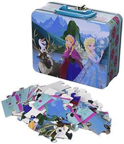 Frozen Tin Box 48 Piece Puzzle by Cardinal
