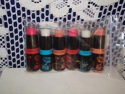 """Wet n Wild Gel Lip Balm """"POUT""""- lot of 6- ASSORTED- Please r"""