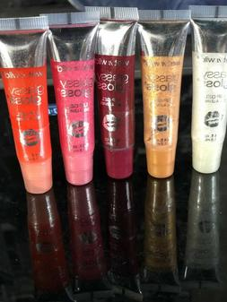 Wet N Wild Glassy Gloss Lip Gel Choose  Your Color
