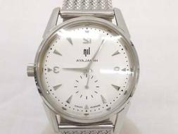 LIP HIMALAYA LP671051 Silver × Mesh Belt Watch Men's Quartz