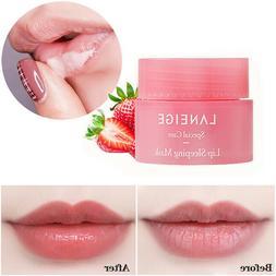 LANEIGE Korean Lip Sleeping Mask Moistened Nourishing Protec