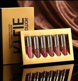 Kylie Jenner Edition Birthday Liquid Lipstick  Set 6 Pcs Gif