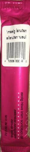 1 Avon Lip Radiance mini Swirl gloss .12oz new Natural Gleam