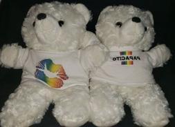 LGBTQ RAINBOW TEDDY BEARS!! PAPACITO & LIPS!! NEW!! COLOR TH