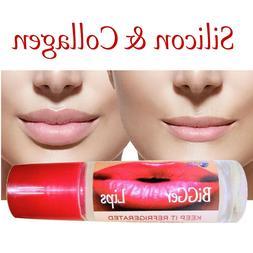 Lips Plumper Enhancer SILICON & COLLAGEN BiGGer Lips Organic