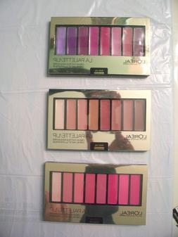 Loreal La Palette for Lips Lipstick CHOOSE SHADE New Pretty