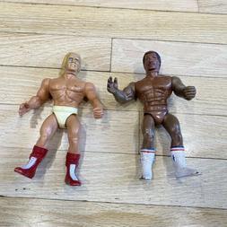 Lot of 2 Vtg 1983 Rocky Action Figures - Hulk Hogan Thunder