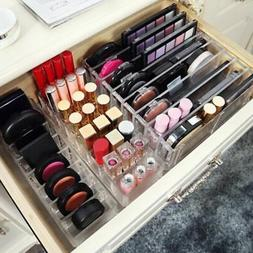 Makeup Cosmetic Lipstick Drawers Holder Table Case Box Stora