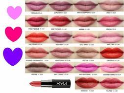 NYX Matte Lipstick Silky Pigmented Lip Color ~U PICK~ Full S