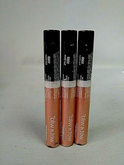 wet n' wild megaslicks Lip Gloss #556B Sun Glaze- 3x - Facto