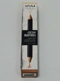 NYX Micro Contour Duo Pencil MCDP01 Light Clair Crayon Doubl