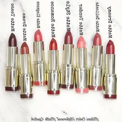 Milani Color Statement Lipstick - Choose Your Shade