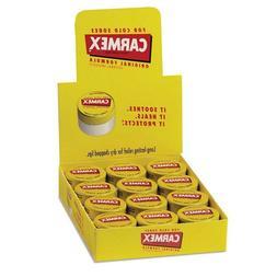 Carmex Original Lip Balm Jar, 0.25 oz, 12 ct. Free Shipping