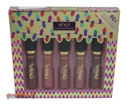 Tarte Party Pouts Liquid Matte Lipstick 5 Pcs Lip Kit Holida