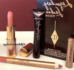 CHARLOTTE TILBURY Pillow Talk Lipstick+Lip Cheat Liner+Legen
