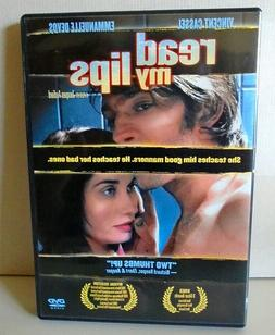 Read My Lips 2001--A Jacques Audiard Film w/Vincent Cassel/E