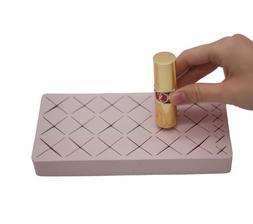 silicone lipstick holder, cosmetic storage for lipstick, lip