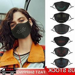 Voice Activated LED Face Mask - Imitates Lips Speaking - Ani