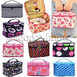 Women's Travel Cosmetic Bag Toiletry Makeup Beauty Organizer